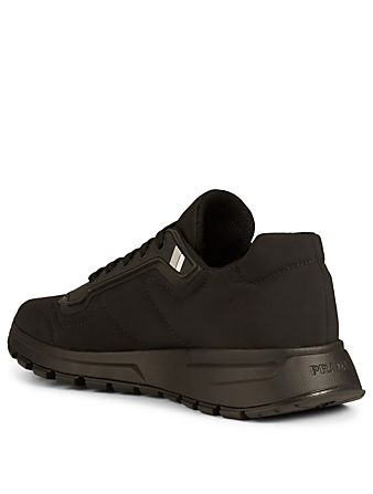 PRADA LINEA ROSSA Nylon Sneakers Men's Black