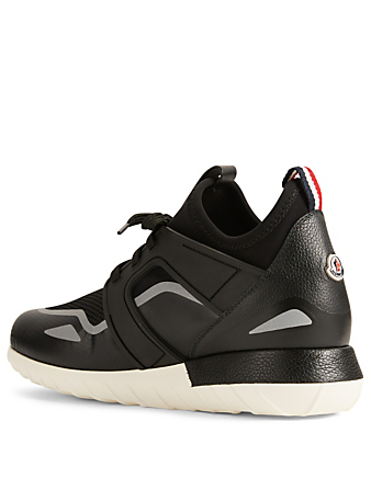 MONCLER Emilien Knit Sneakers Men's Black