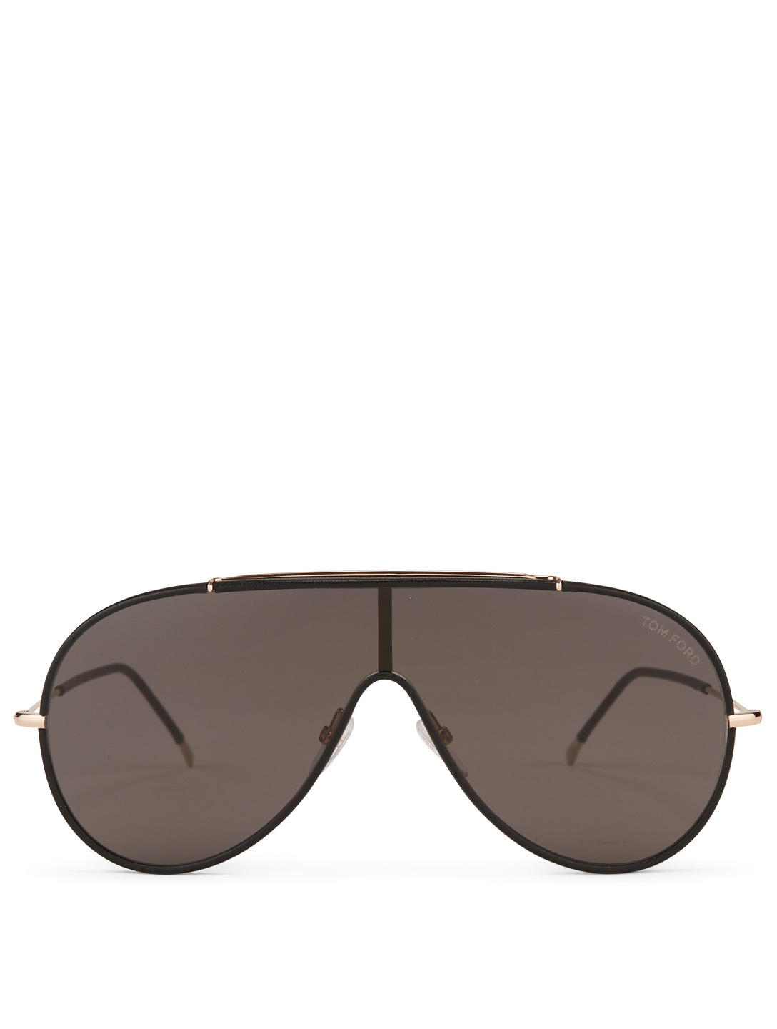 TOM FORD Mack Shield Sunglasses Men's Black