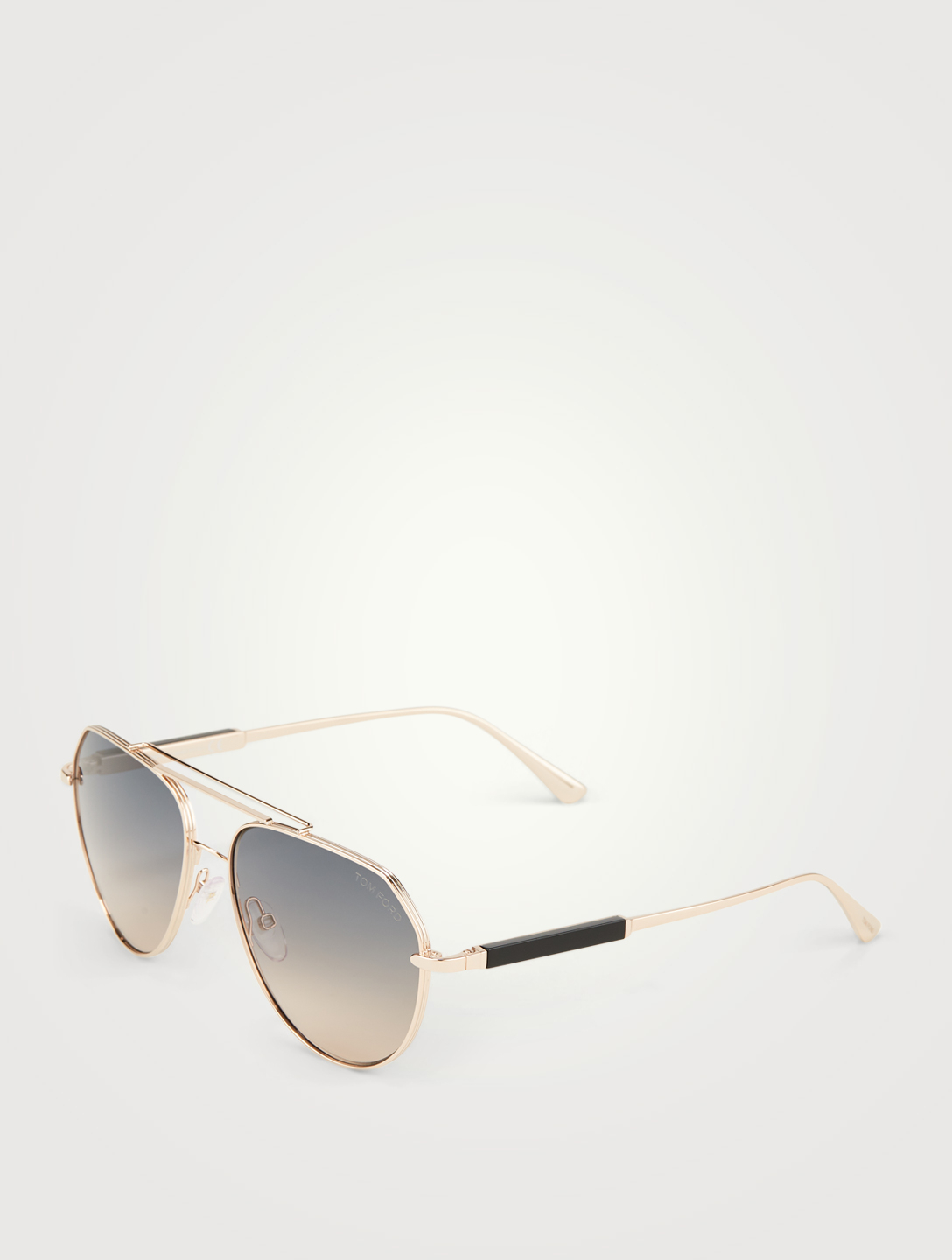 TOM FORD Andes Aviator Sunglasses Men's Gold