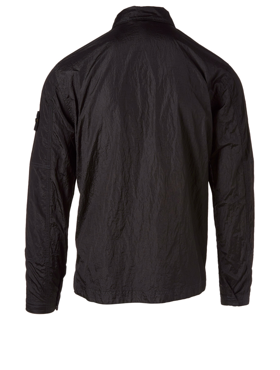 STONE ISLAND Nylon Metal Shirt Jacket Men's Black