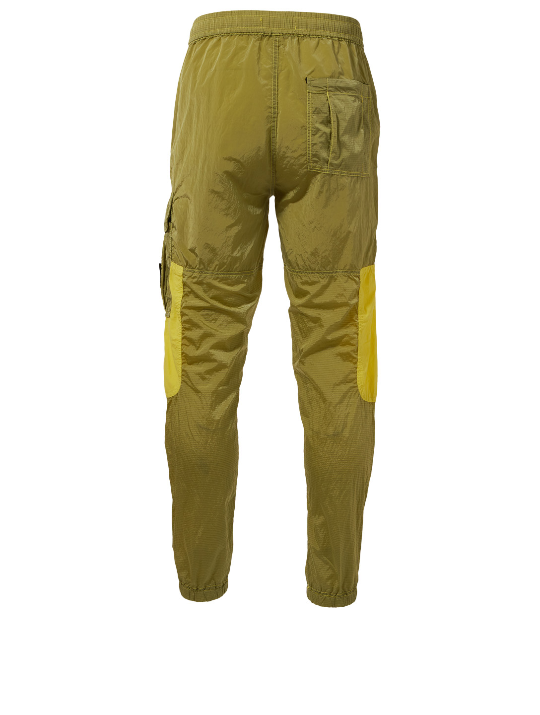 STONE ISLAND Nylon Metal Jogger Pants Men's Yellow