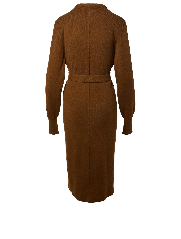 962e39bba31 CHLOÉ Cashmere Turtleneck Sweater Dress