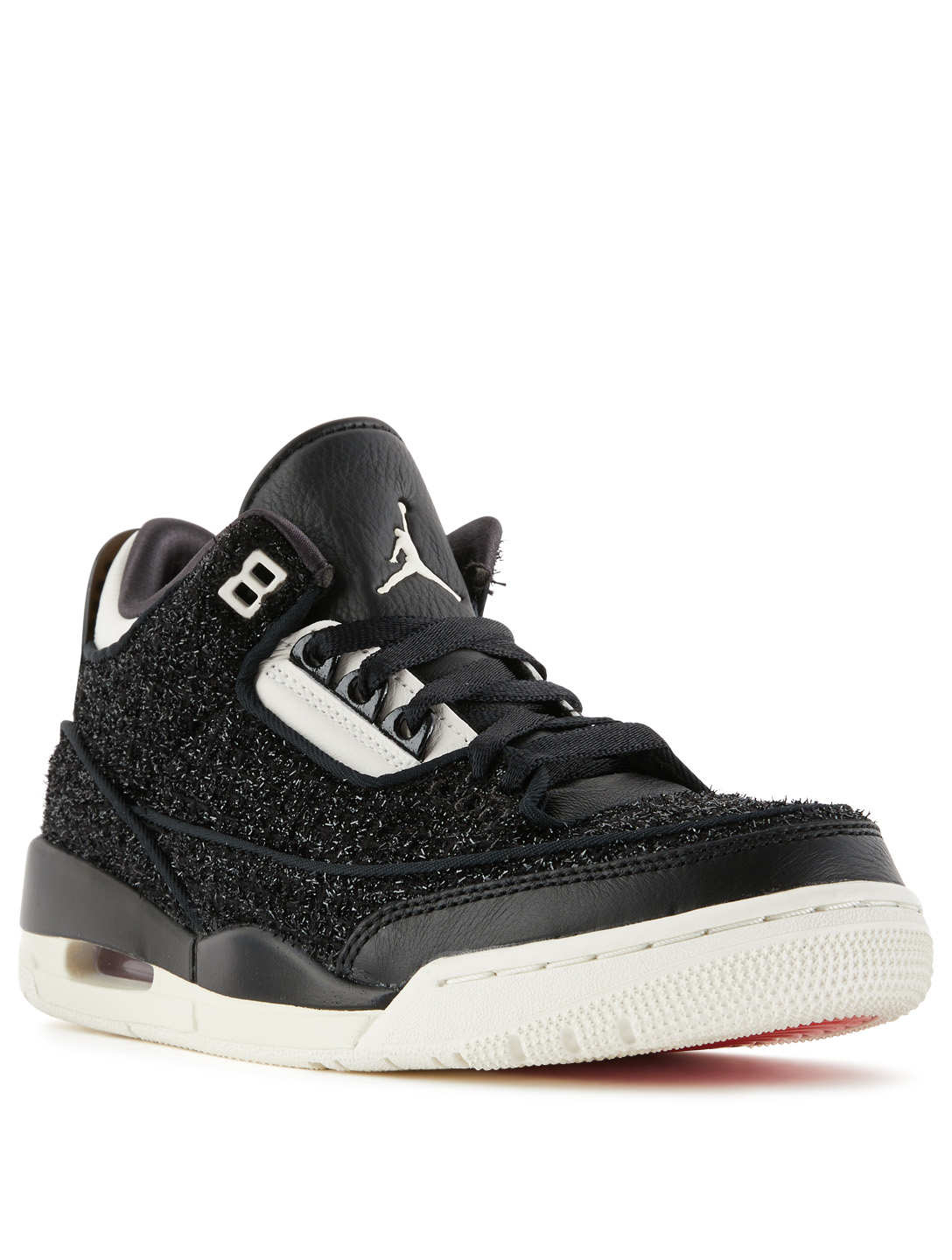 448dd80f513 ... NIKE Vogue x Air Jordan 3 AWOK Sneakers Women's Black ...