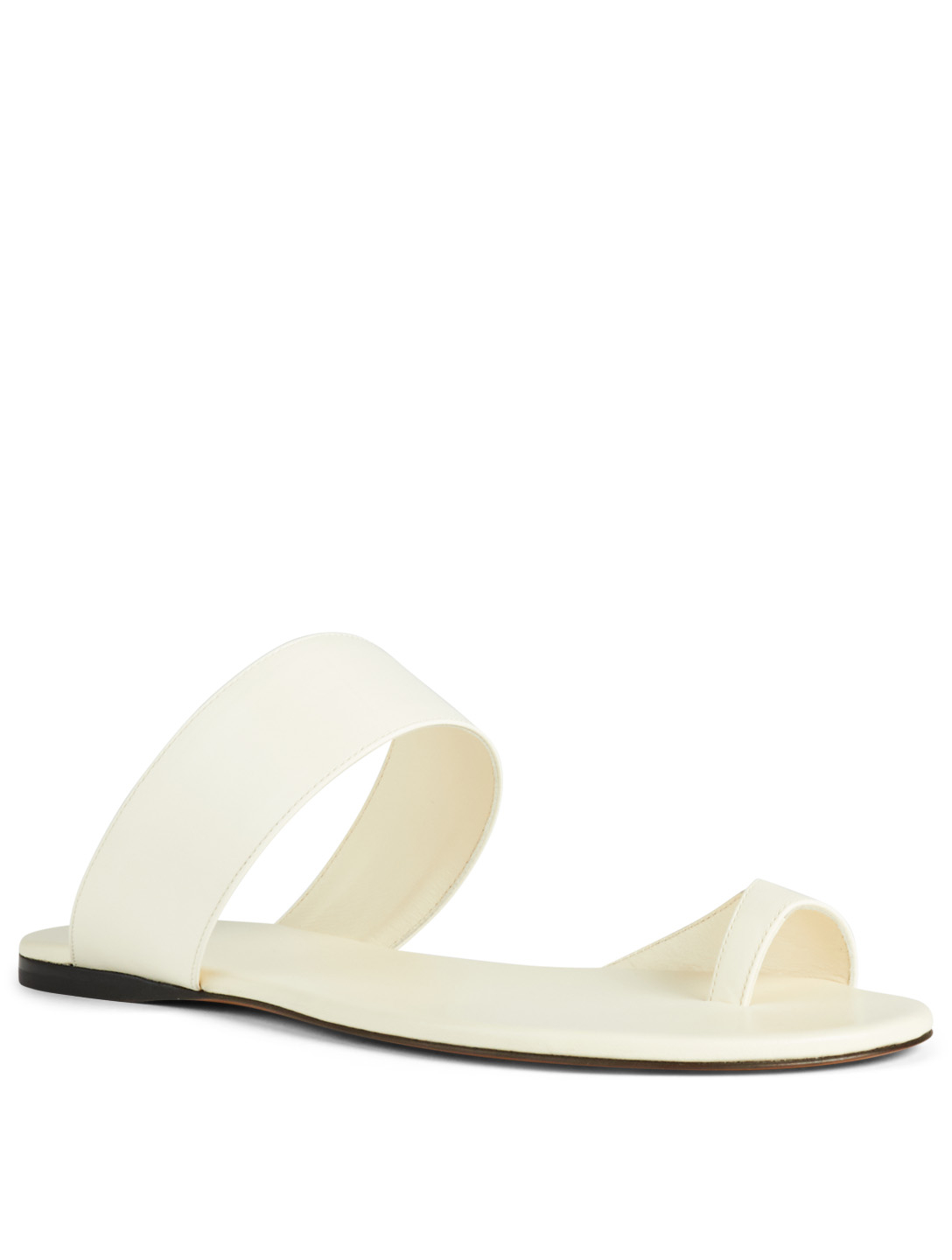 87b42ae8159 THE ROW Infradito Leather Sandals