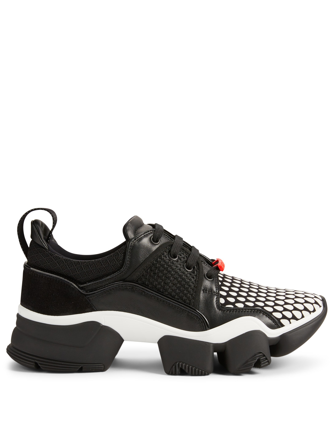 GIVENCHY Jaw Leather And Neoprene Sneakers Men's Black