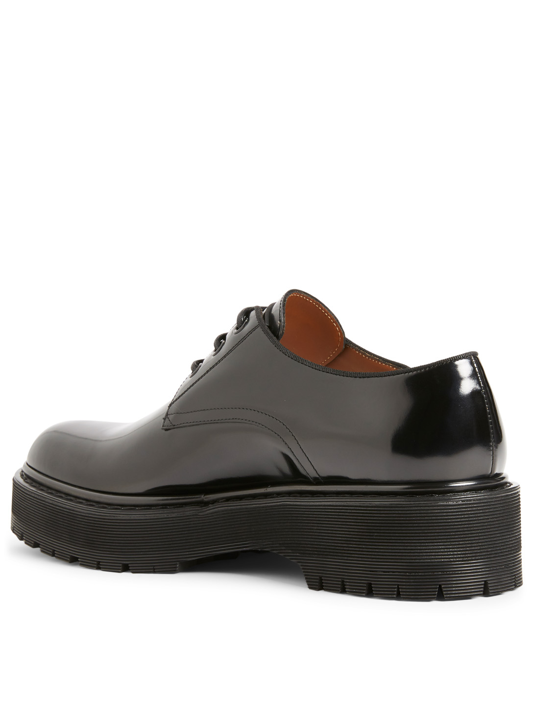 GIVENCHY Camden Utility Leather Derby Shoes Men's Black