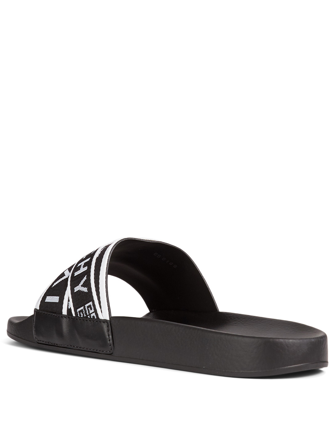 993286f12284 ... GIVENCHY 4G Webbing Slide Sandals Men s Black ...