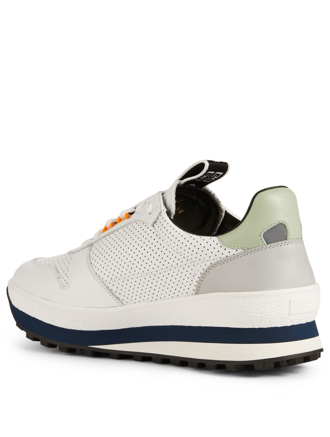 GIVENCHY TR3 Perforated Leather Sneakers Men's White