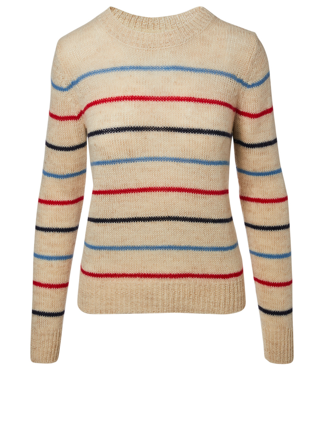 df755903d7 ISABEL MARANT ÉTOILE Gian Alpaca-Blend Sweater In Stripe Women's Neutral ...