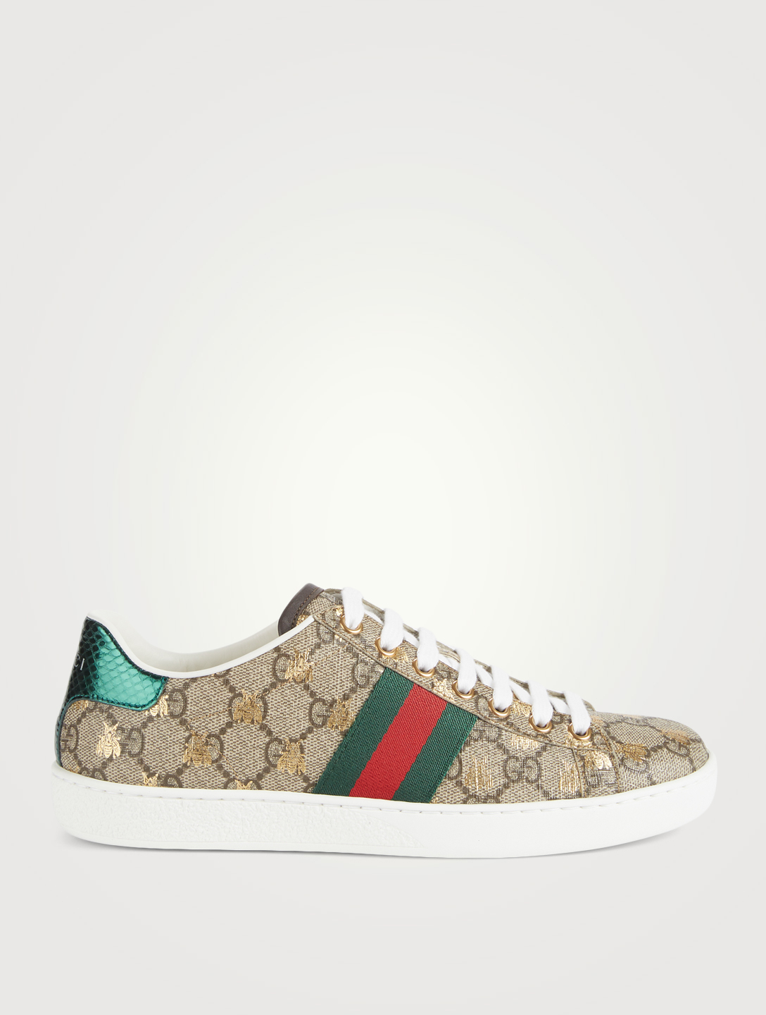 GUCCI Ace GG Supreme Sneakers With Bees Women's Neutral