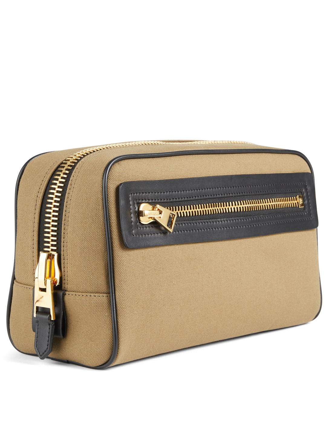 TOM FORD Canvas Dopp Kit Bag Men's Neutral