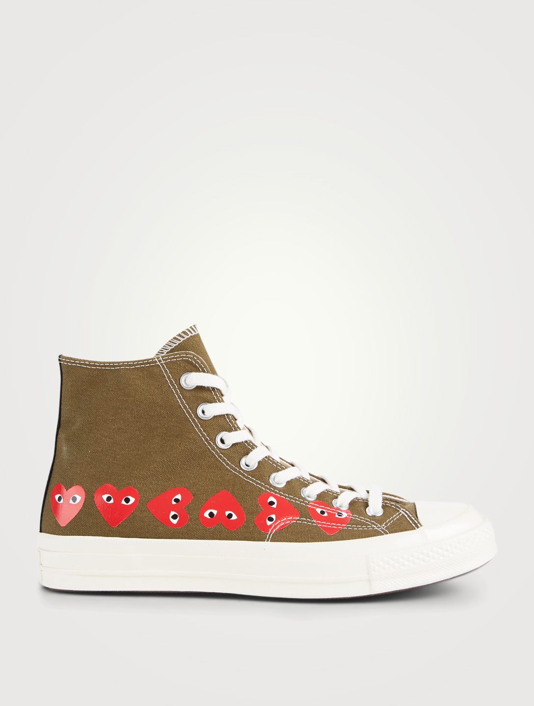 32260c2b8224a1 COMME DES GARÇONS PLAY. Converse x CDG PLAY Chuck High-Top Sneakers.  180. Item  No 4311368304