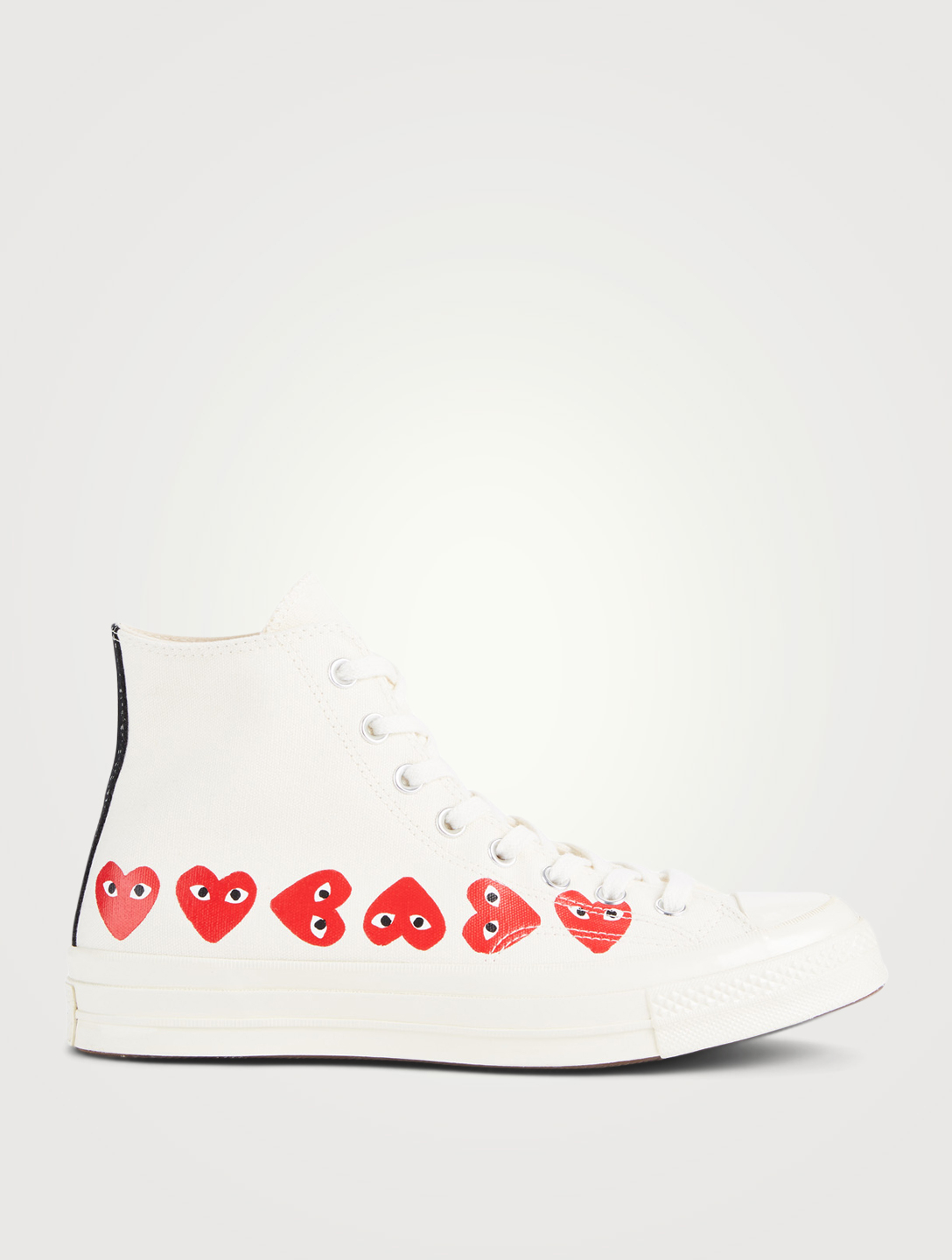 COMME DES GARÇONS PLAY Converse x CDG PLAY Chuck High-Top Sneakers Men's White