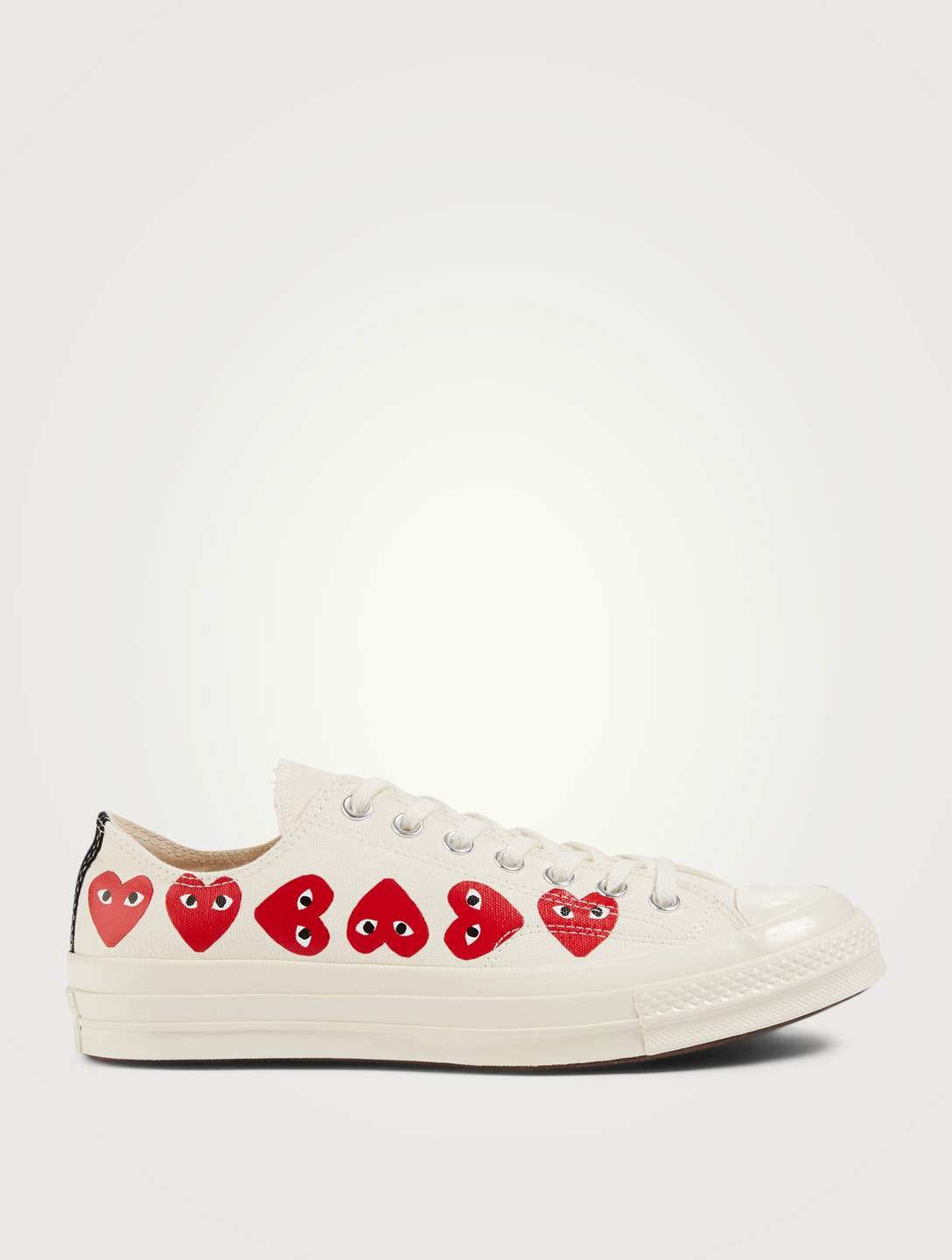4cea51792be5 COMME DES GARÇONS PLAY Converse x CDG PLAY Chuck Sneakers Men s White ...