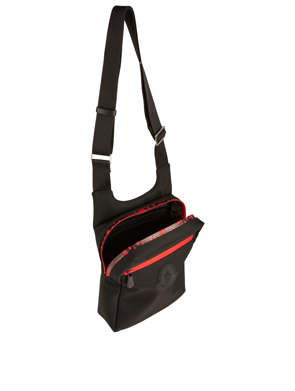 1c4c35246b0 ... MONCLER Pascal Nylon Crossbody Bag Men s Black