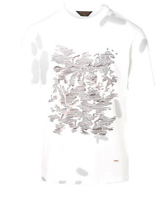 ERMENEGILDO ZEGNA Graphic T-Shirt Men's White