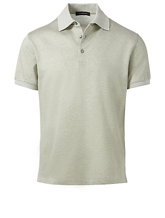 ERMENEGILDO ZEGNA Polo Shirt Men's Green