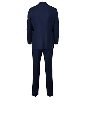 ERMENEGILDO ZEGNA Wool Two-Piece Suit Men's Blue