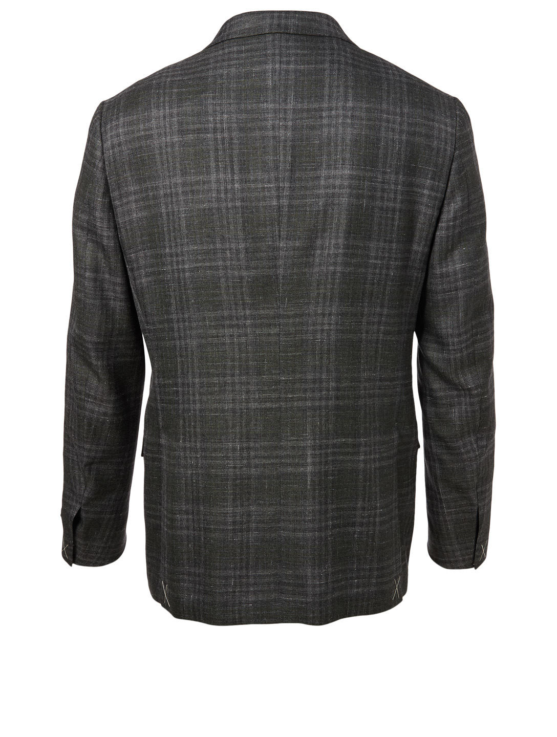 ERMENEGILDO ZEGNA Jacket In Check Men's Grey