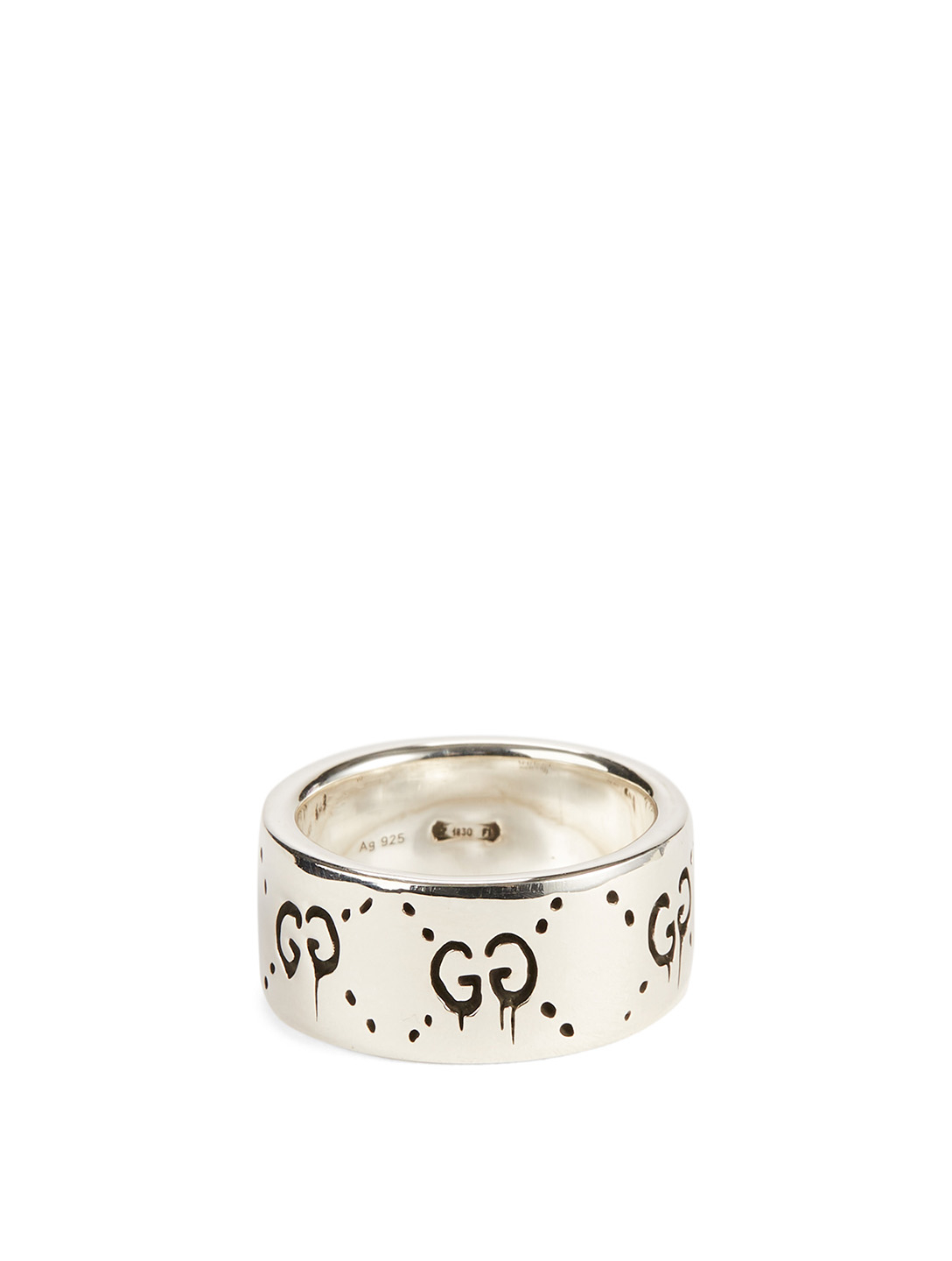 f49b5639 GUCCI Sterling Silver GucciGhost Ring | Holt Renfrew