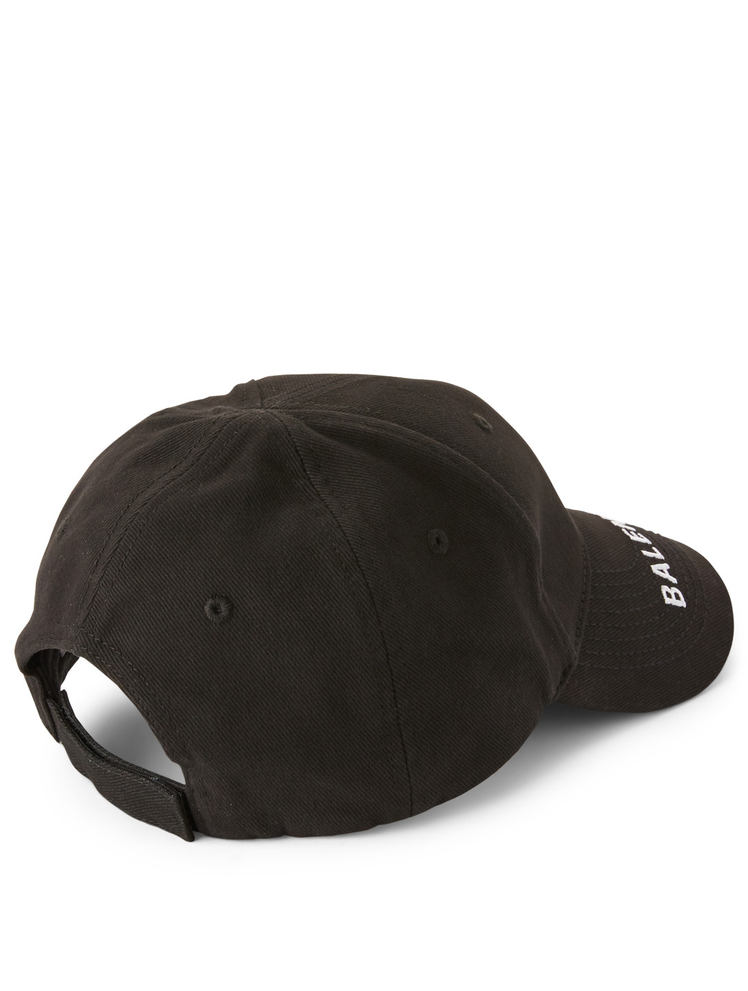 BALENCIAGA Ball Cap With Logo Womens Black