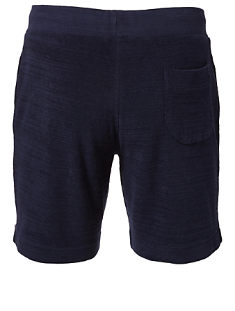 ORLEBAR BROWN Afador Towelling Shorts Men's Blue