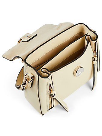 CHLOÉ Mini Faye Leather Day Bag Womens White