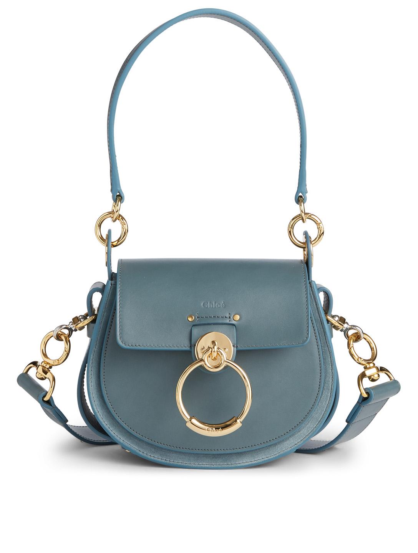 bfade7323e CHLOÉ Small Tess Leather Saddle Bag | Holt Renfrew