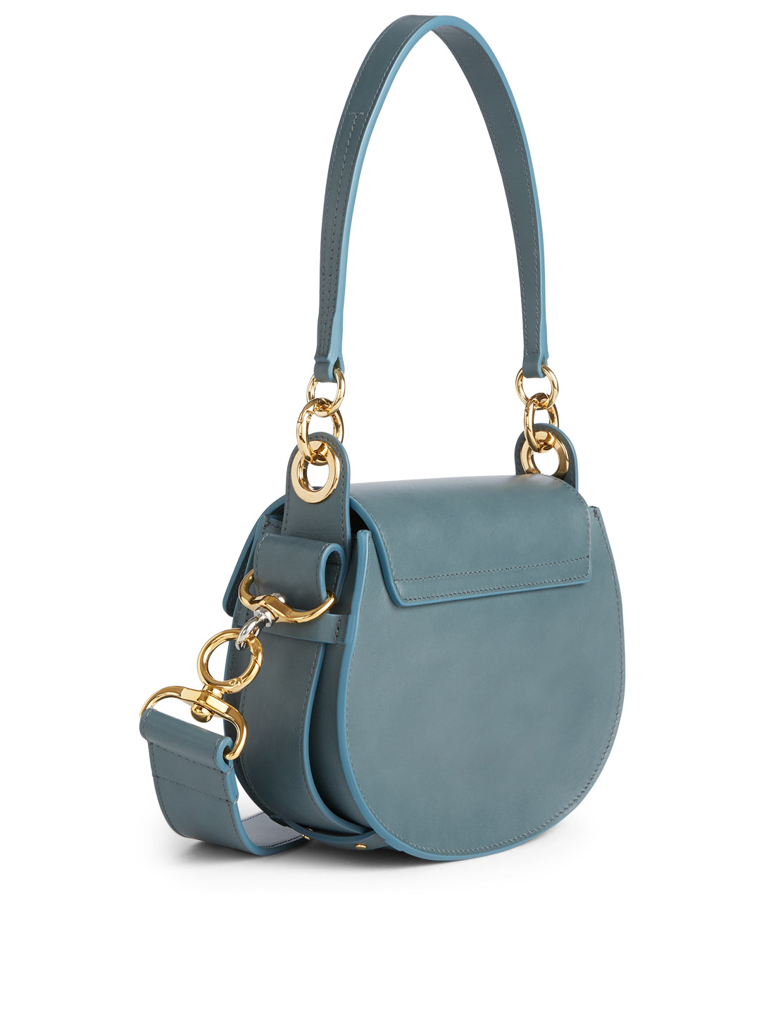 a1536344 CHLOÉ Small Tess Leather Saddle Bag | Holt Renfrew