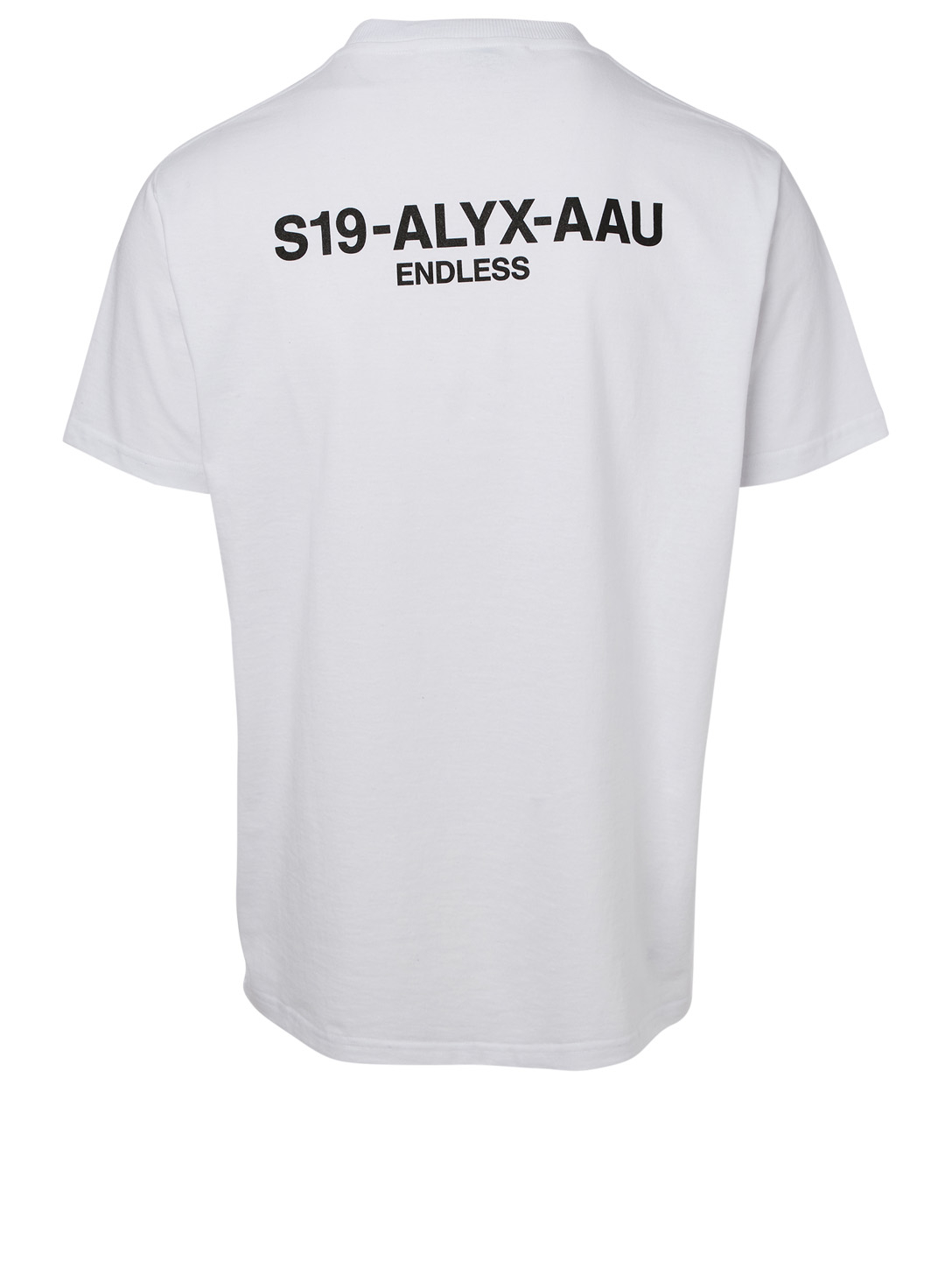 1017 ALYX 9SM Collection Code T-Shirt Men's White