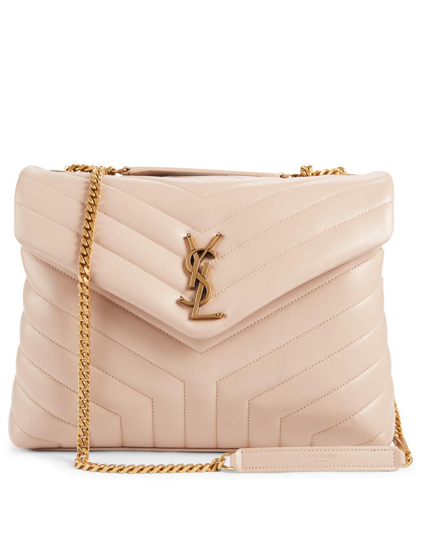 8dd506888 SAINT LAURENT Medium Loulou YSL Monogram Leather Chain Bag | Holt ...