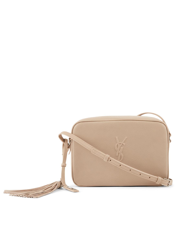 2a46dc316dd9 SAINT LAURENT Medium Lou Leather Camera Bag Women's Neutral ...