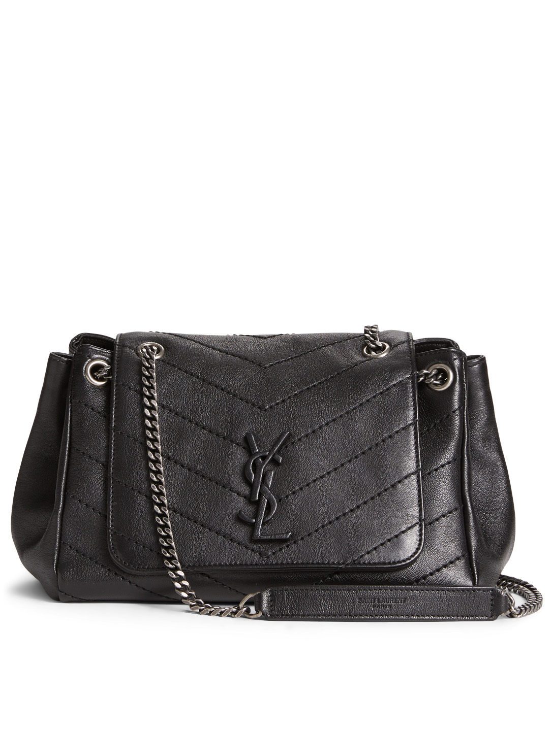 e1313773c67e70 SAINT LAURENT Medium Nolita Monogram Leather Bag | Holt Renfrew