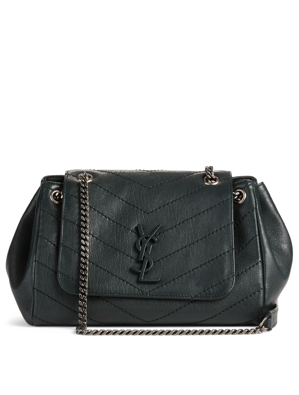 f1cd27bc47cbf6 SAINT LAURENT Medium Nolita Monogram Leather Bag | Holt Renfrew