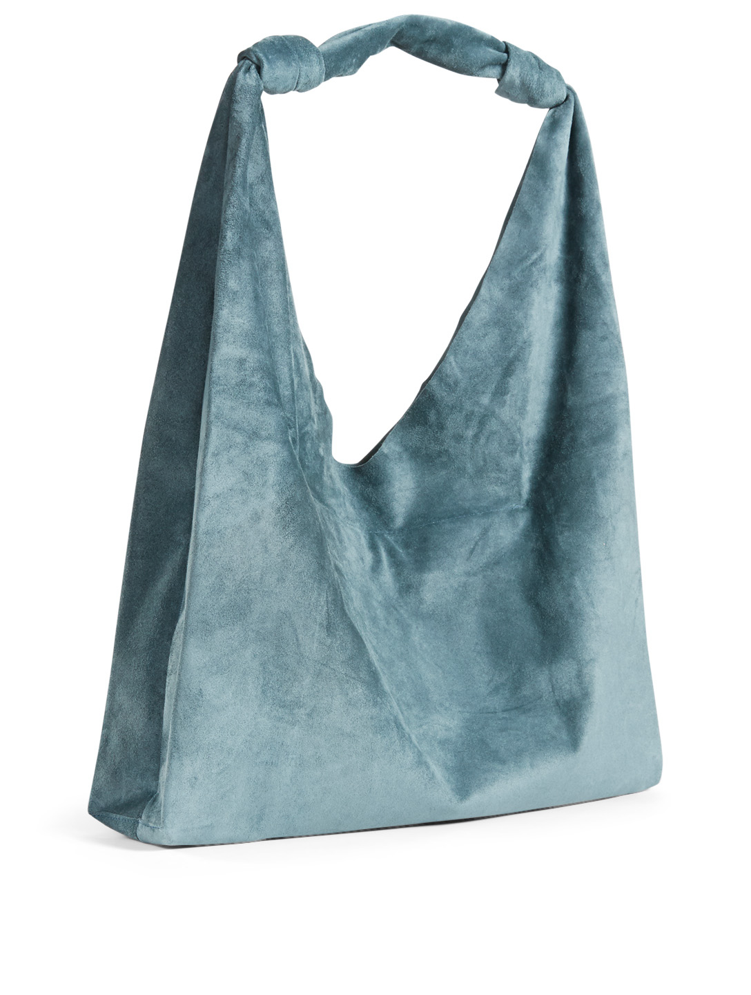 a74f2c67063 ... THE ROW Double Knot Suede Bindle Bag Women s ...