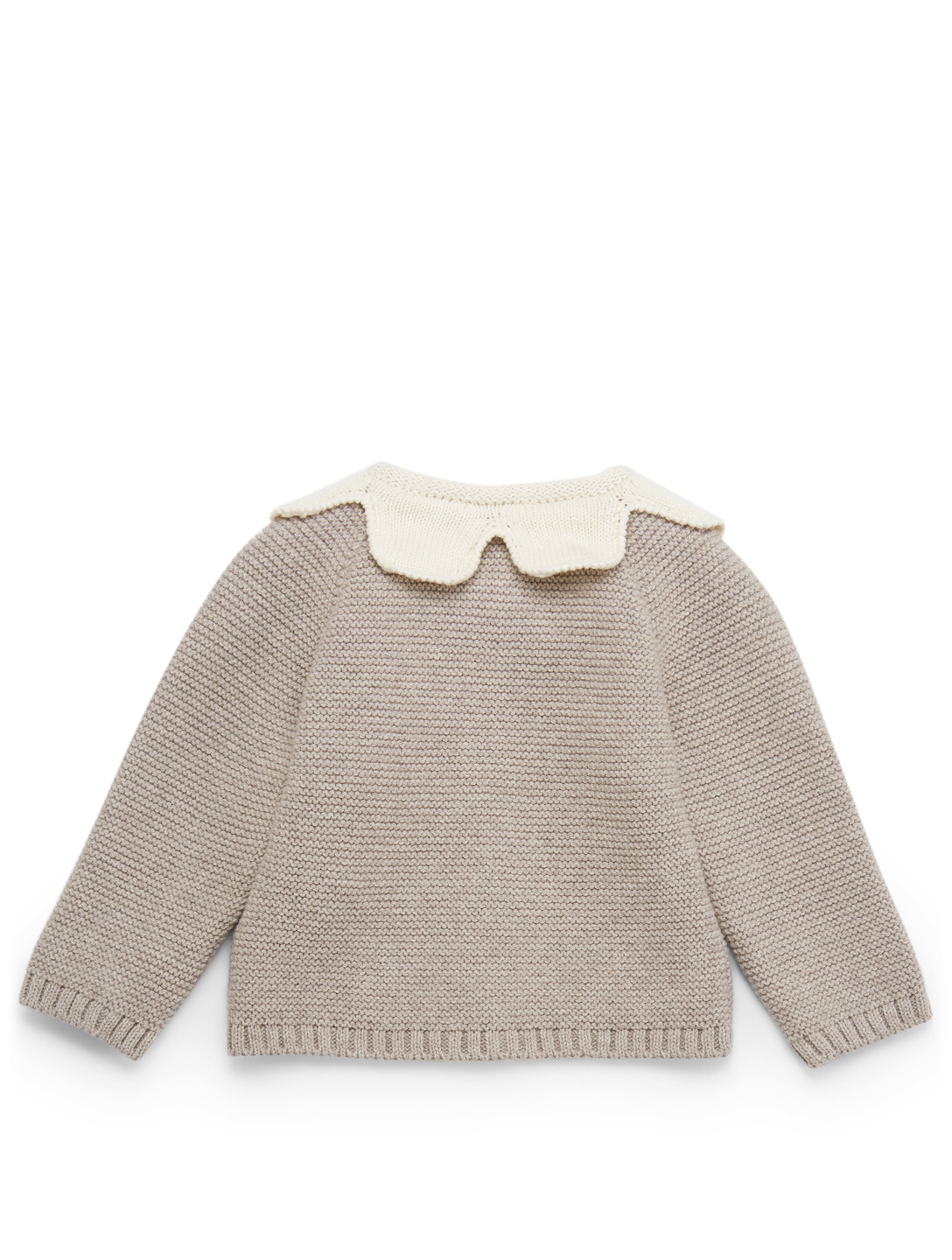 9374f5614db9 ... OEUF Daisy Knit Cardigan H Project White