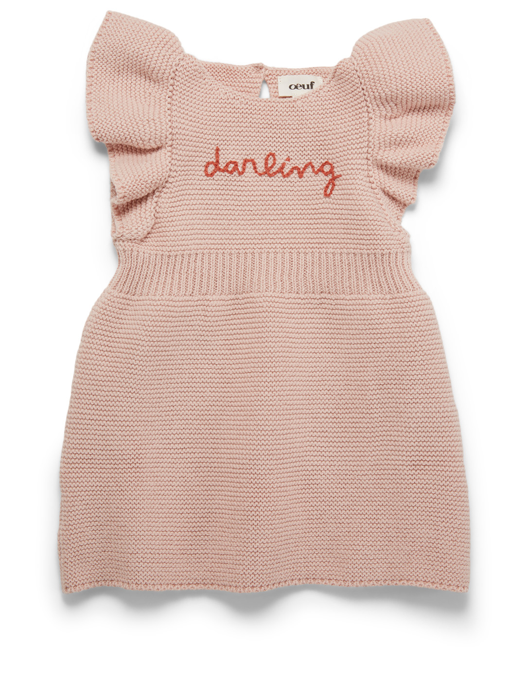OEUF Darling Butterfly-Sleeve Dress H Project Pink