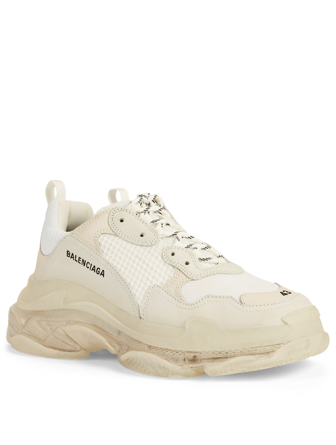 BALENCIAGA Triple S Sneakers Men's White