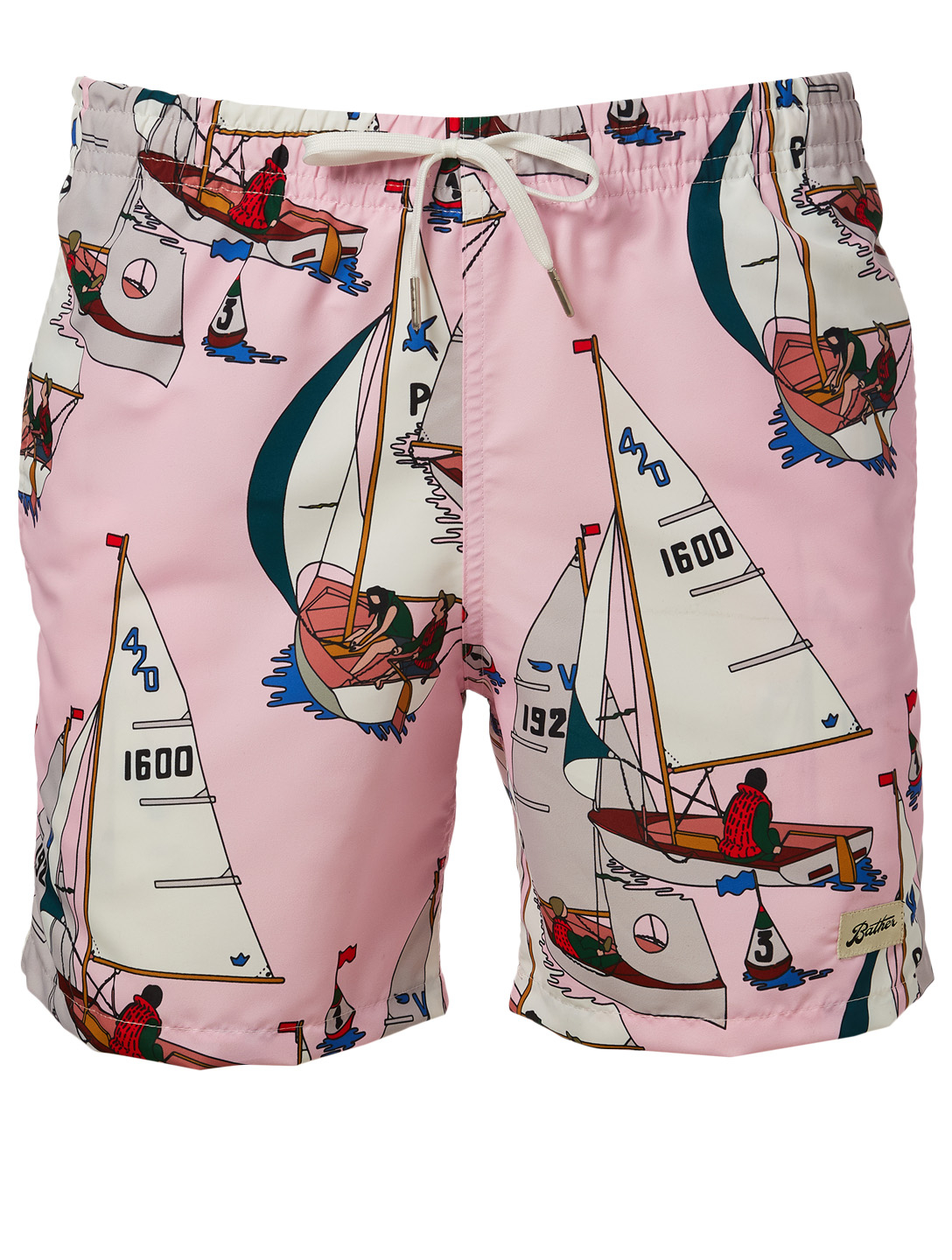 BATHER Afternoon Sail Swim Shorts H Project Pink