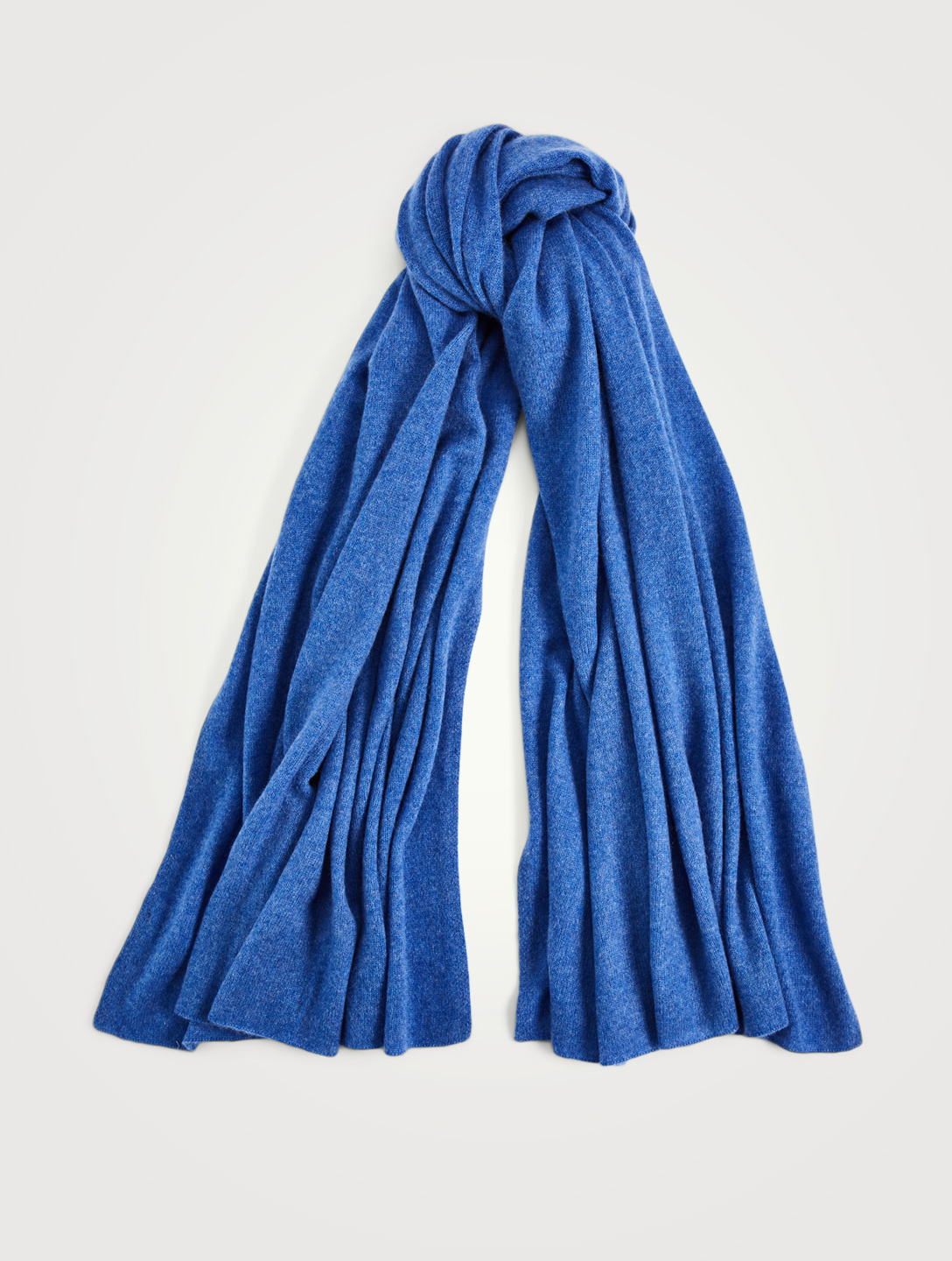 WHITE & WARREN Cashmere Travel Scarf Womens Blue