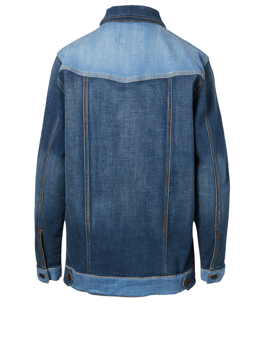 OUTLAND DENIM Ava Patchwork Jean Jacket H Project Blue