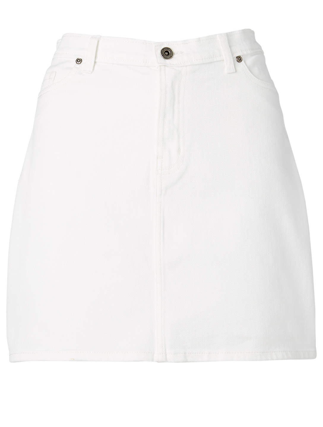 OUTLAND DENIM Florence Jean Skirt H Project White