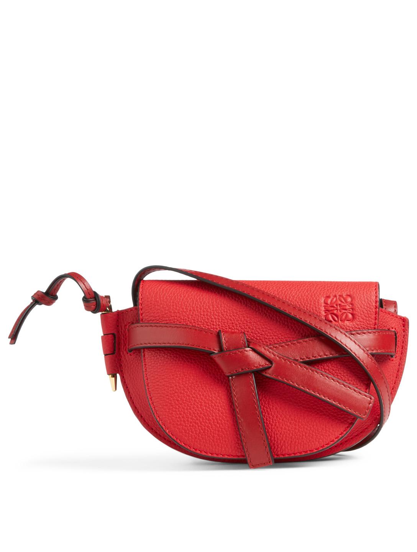 2e1b585e69d0 LOEWE Mini Gate Leather Crossbody Bag Women s ...