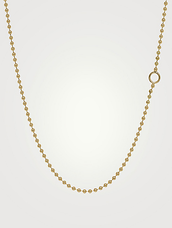 TEMPLE ST. CLAIR 18K Gold Ball Chain Women's Gold