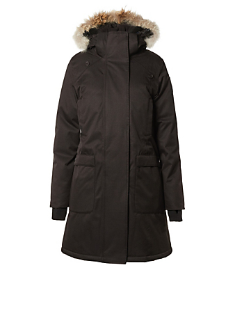 NOBIS Merideth Down Parka With Fur Hood Women's Black