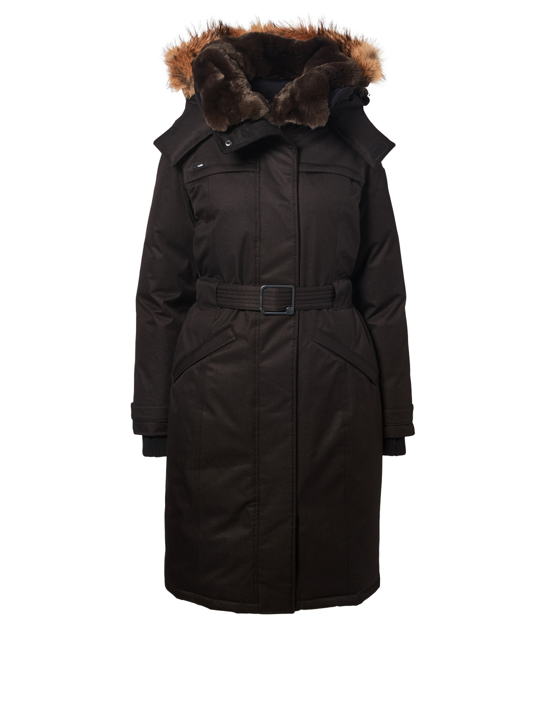 NOBIS She-Ra Down Parka With Fur Trim Women's Black