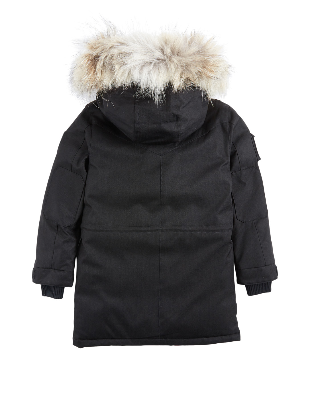 NOBIS Kids Little Kimmarut Down Parka With Fur Hood Kids Black