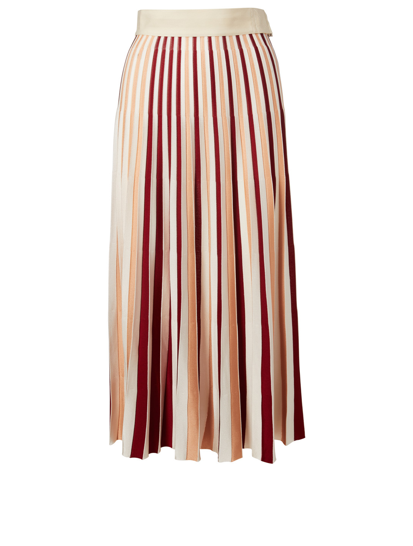 b3cf1c9cf MONCLER GENIUS 2 Moncler 1952 Colourblock Pleated Skirt   Holt Renfrew