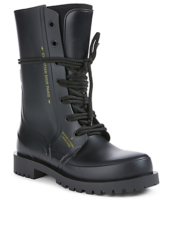 DIOR Diorcamp Rubber Boots Women's Black
